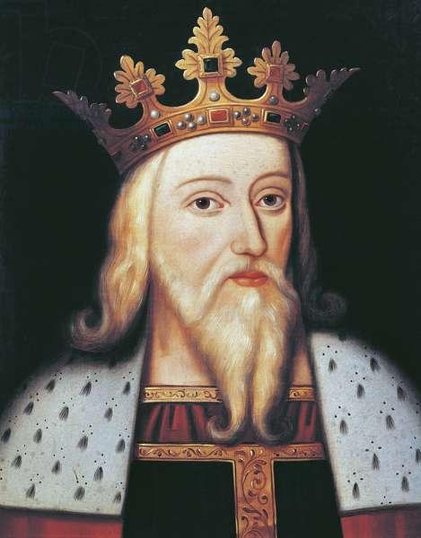 King Edward III (oil on panel)