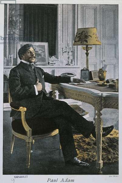 Paul Adam (Paris, 1862-1920), French writer, photograph, by Dornac