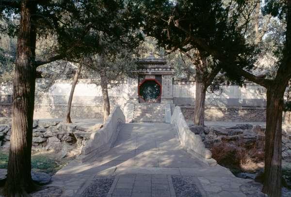 Gate, Summer palace (Unesco World Heritage List, 1998), Beijing, China, 19th century (photo)