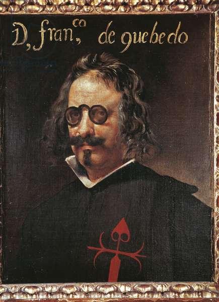Portrait of Francisco De Quevedo (1580-1645), by Diego Velazquez (1599-1660)