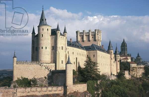 Alcazar (11th-19th century), Segovia (Unesco World Heritage List, 1985), Castile and Leon, Spain