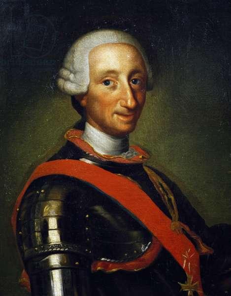 Portrait of Charles III of Bourbon