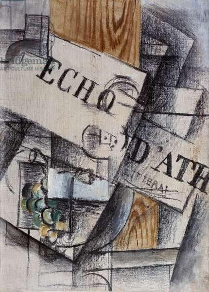 L'Echo d'Athenes, 1911 (oil and charcoal on canvas)