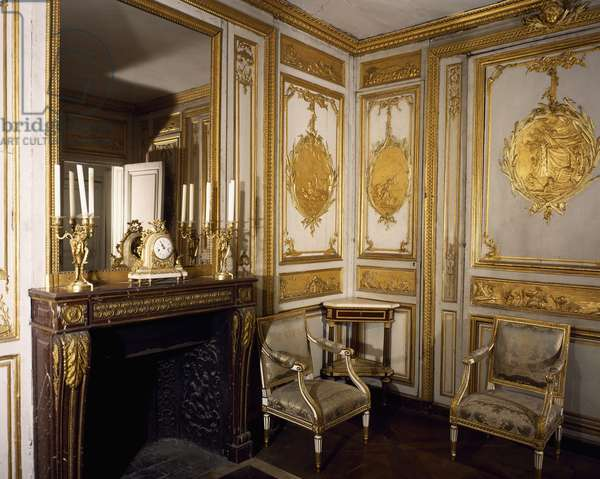 Louis XV's toilette, Palace of Versailles, France, 18th century
