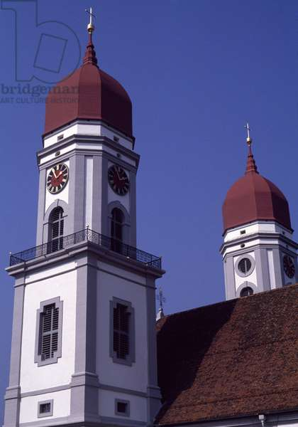 Sankt Urban Cistercian Abbey, by Franz Beer, canton of Lucerne, Switzerland, 18th century
