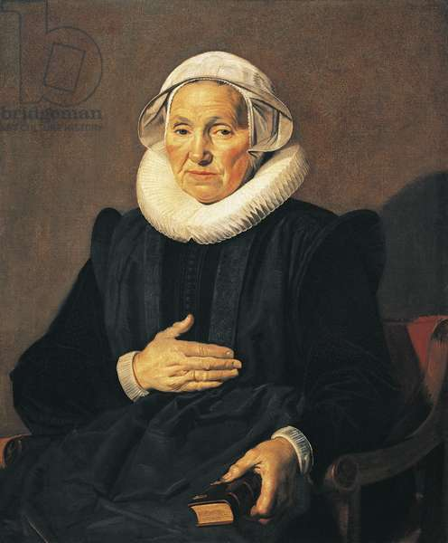 Portrait of Sarah Andriesdochter Hessix, 1626, by Frans Hals (circa 1581-1666), oil on canvas