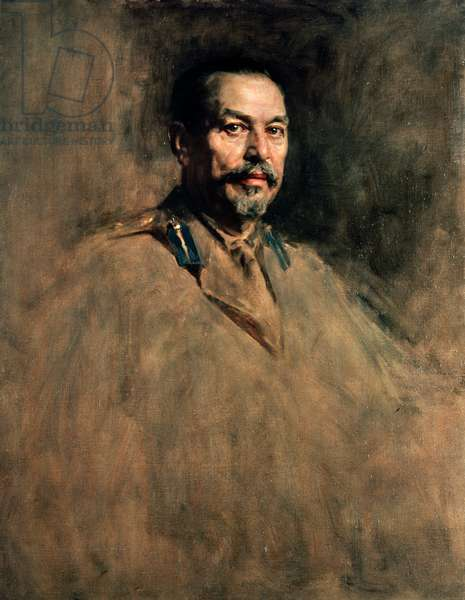 Portrait of Louis Botha (1862-1919), ca 1919-1921, South African politician, painting by James Guthrie (1859-1930). South Africa, 20th century