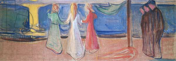 Desire, 1906-1907, by Edvard Munch (1863-1944), tempera on canvas. Norway, 20th century.