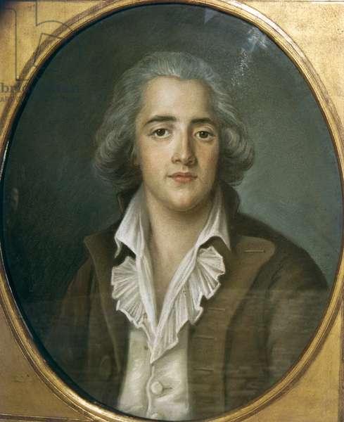 Portrait of Francois-Rene Chateaubriand (1768-1848)