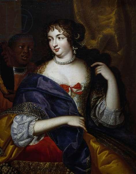 Portrait of Madame de Montespan (1640-1707), oil on canvas