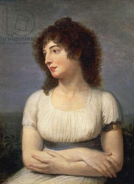Portrait of Laure Guesnon de Bonneuil, Countess Regnaud Saint-Jean d'Angely, 1795, Andrea Appiani (1754-1817), oil on canvas, 70x55 cm