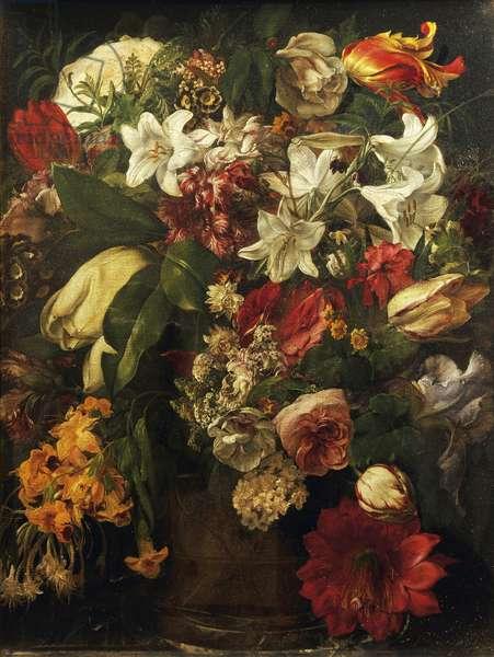 Flowers, by Francesco Hayez (1791-1882), oil on canvas, 51x39,2 cm, 1834