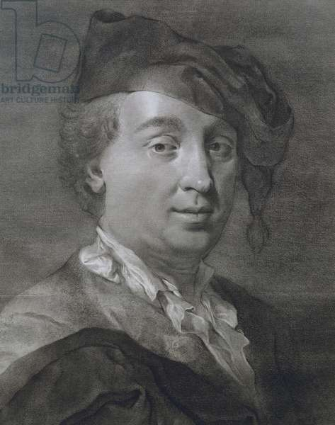 Portrait of Carlo Goldoni (Venice, 1707 - Paris, 1793), Italian playwright