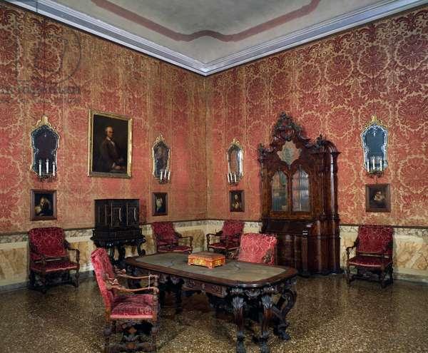 Tiepolo Room, Ca' Rezzonico (now museum dedicated to 18th-century Venice), Venice, Italy, 18th century
