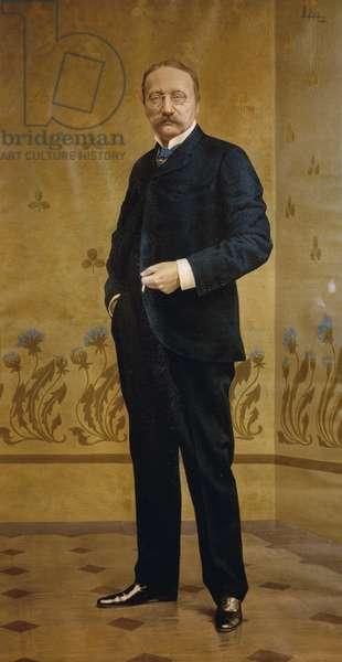 Italy, Bologna, Portrait of Arrigo Boito