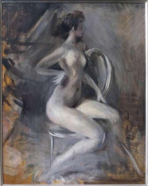 Italy, Ferrara, Dynamic Nude, 1910
