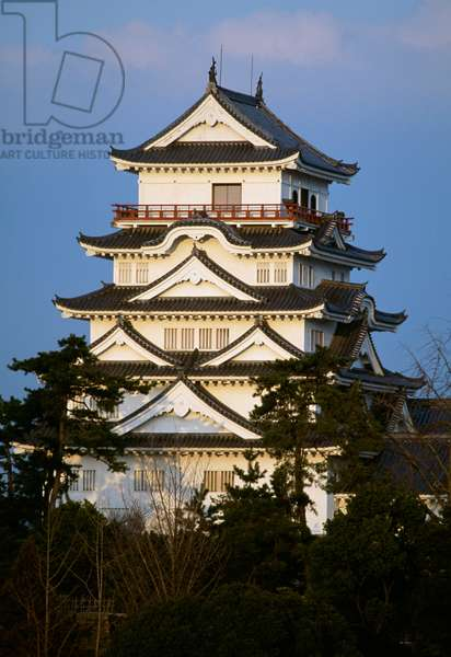 Fukuyama Castle (also known as Hisamatsu Castle or Iyo Castle), Hiroshima, Japan, 17th century
