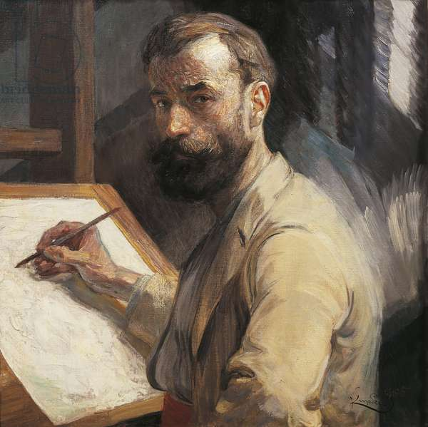 Praque, Self-portrait, 1905
