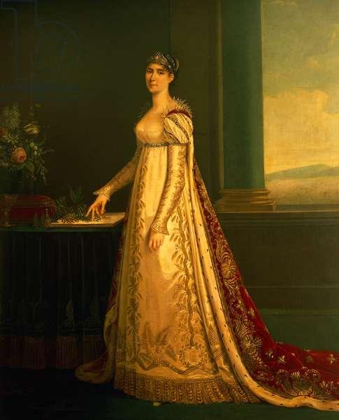Portrait of Josephine Bonaparte (oil on canvas)