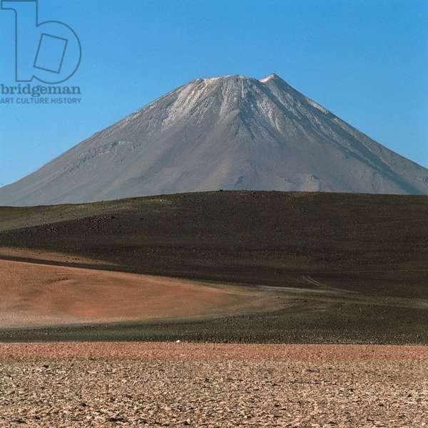 Lava desert, Huaitiquina Pass, Andes, Argentina (photo)