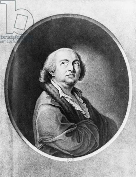 Giuseppe Balsamo known as Count Cagliostro (1743-1795), engraving by Robert Samuel Marcuard, 1786, from drawing by Francesco Bartolozzi (1727-1815), France, 18th century