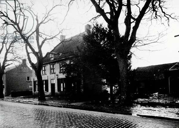 The family home of Dutch painter Vincent Van Gogh (Zundert, 1853-Auvers-sur-Oise, 1890) in Nuenen, Netherlands.
