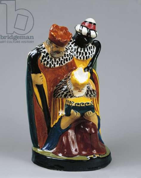 Tullio d'Albissola, crib figurine from Presepe Strapaesano