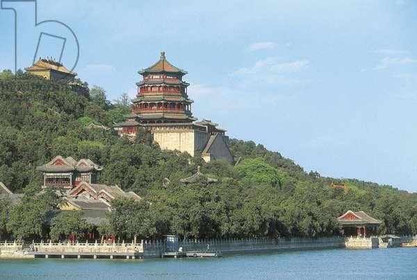 China, Beijing, Summer Palace, Longevity Hill