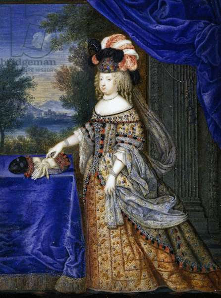 Maria Theresa of Spain (tempera on paper)