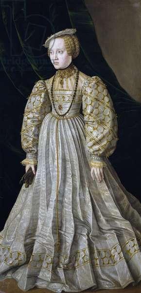 Portrait of Anna of Austria (oil on canvas)