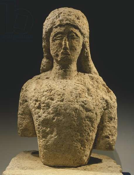 Kouros, sculpture of archaic age (Greece), Greek Civilization, 6th-5th Century BC