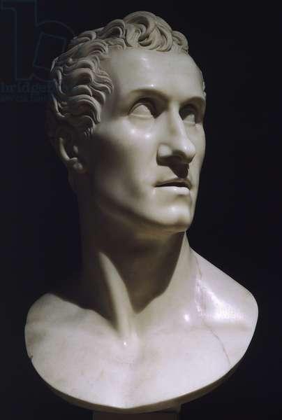 Self portrait by Antonio Canova (1757-1822) , 1812