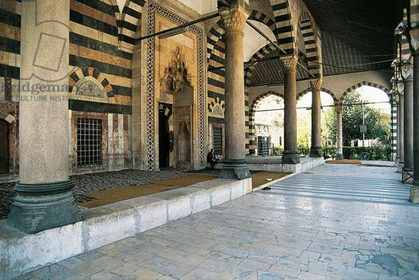 Mosque of Suleiman the Magnificent, Damascus, Syria