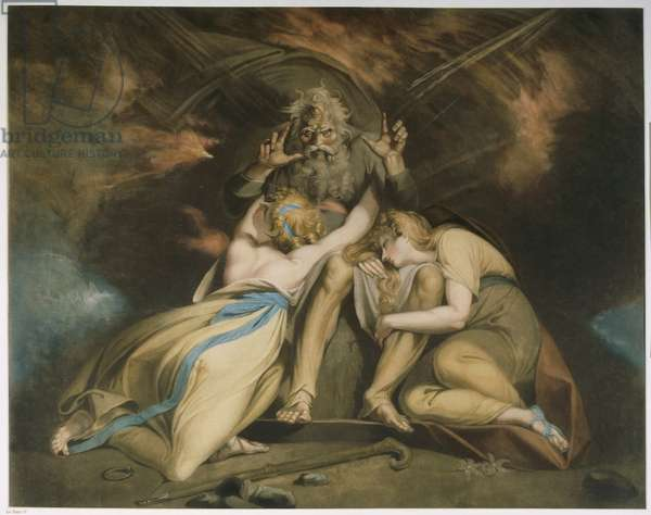 Austria, Vienna, painting of The Death of Oediphus