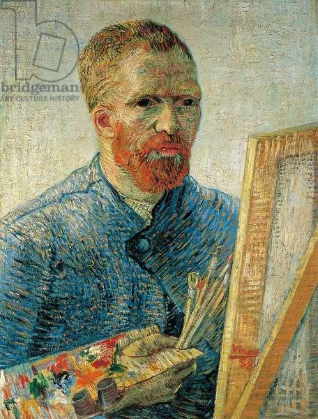 Self Portrait as a Painter, 1888 (oil on canvas)