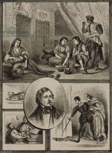 Eugene Delacroix (1798-1863) and his operas