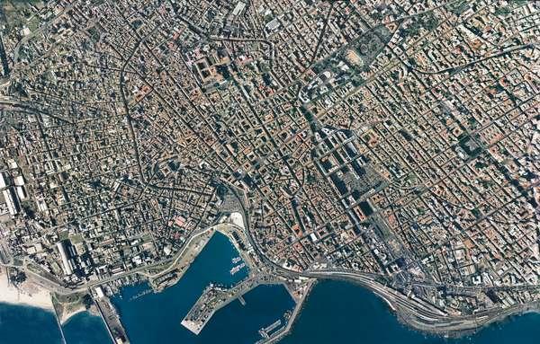 Italy, Sicily Region, Catania, aerial view (photo)