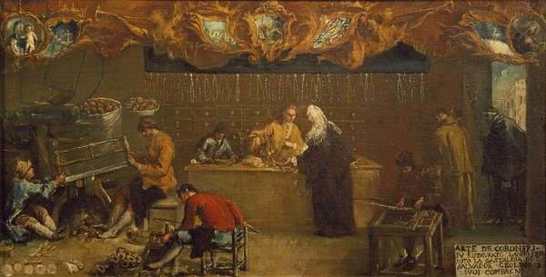 The Arte dei Coroneri, c.1750 (oil on canvas)