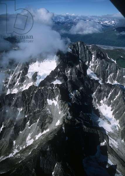 USA; Alaska; Denali National Park; Mount McKinley (photo)