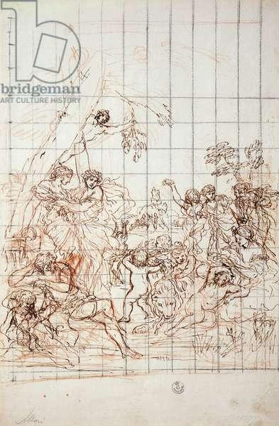 Study for the Golden Age fresco