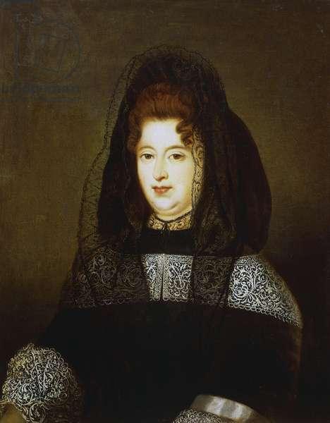 Francoise d'Aubigne, Marquise de Maintenon (Niort, 1635-Saint-Cyr-l'Ecole, 1719), morganatic wife of Louis XIV of France
