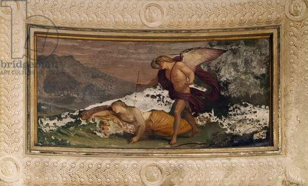 Fresco by Andrea Appiani (1754-1817), Villa Reale, Monza, Italy, 18th century