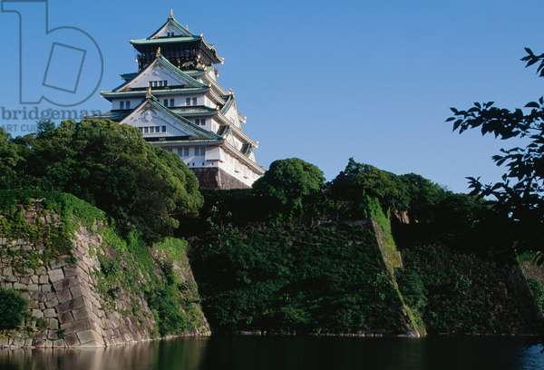 Osaka Castle, Kansai, Osaka, 16th century, Japan