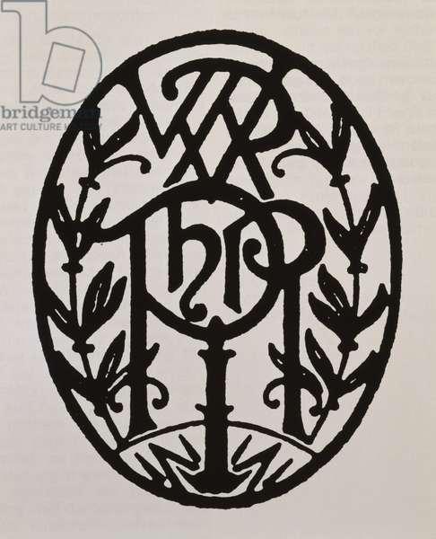 Coat of arms of Wiener Philharmoniker (Vienna Philarmonic Orchestra), Austria