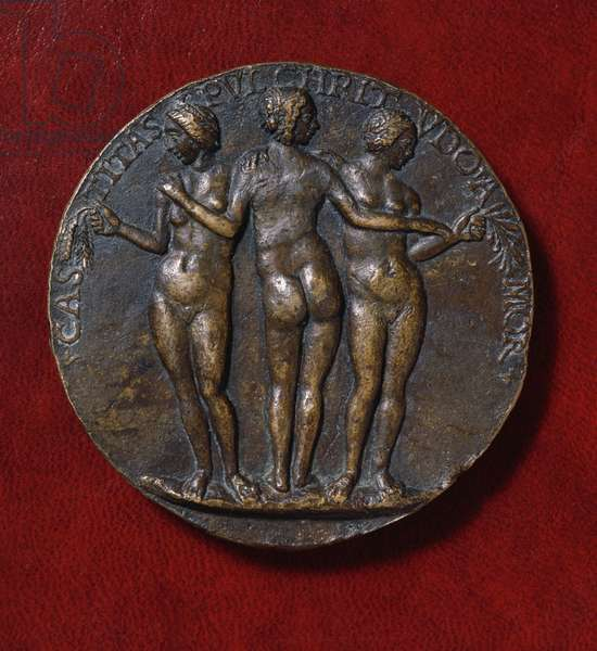 Medal depicting The Three Graces (bronze)