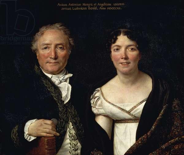 Portrait of Antonio Mongez and his wife