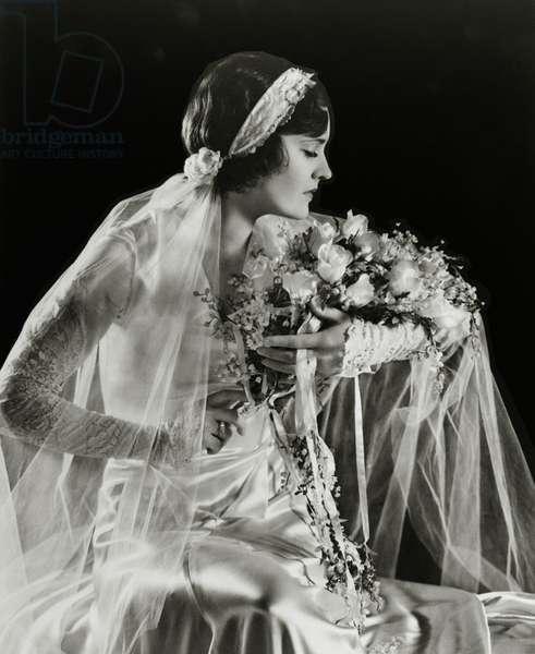 Ziegfeld Follies performer, c.1925 (b/w photo)