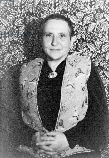 Portrait of Gertrude Stein, 1938 (photo)