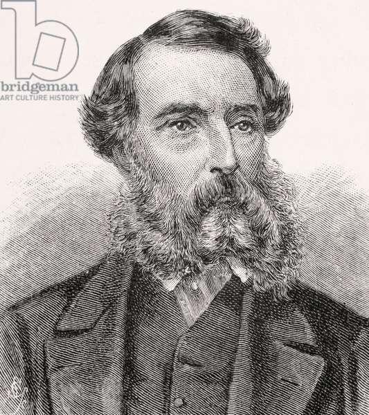 Portrait of Edward John Eyre (engraving)