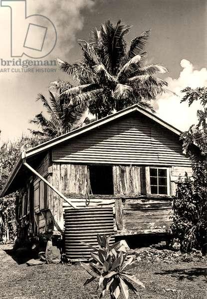 House belonging to Thursday October Christian, Pitcairn Islands. 1971 (photo)